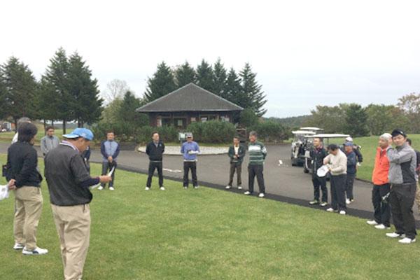 5月 社内ゴルフコンペ