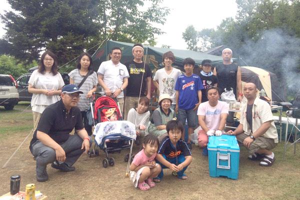 7月 若手による洞爺湖キャンプ